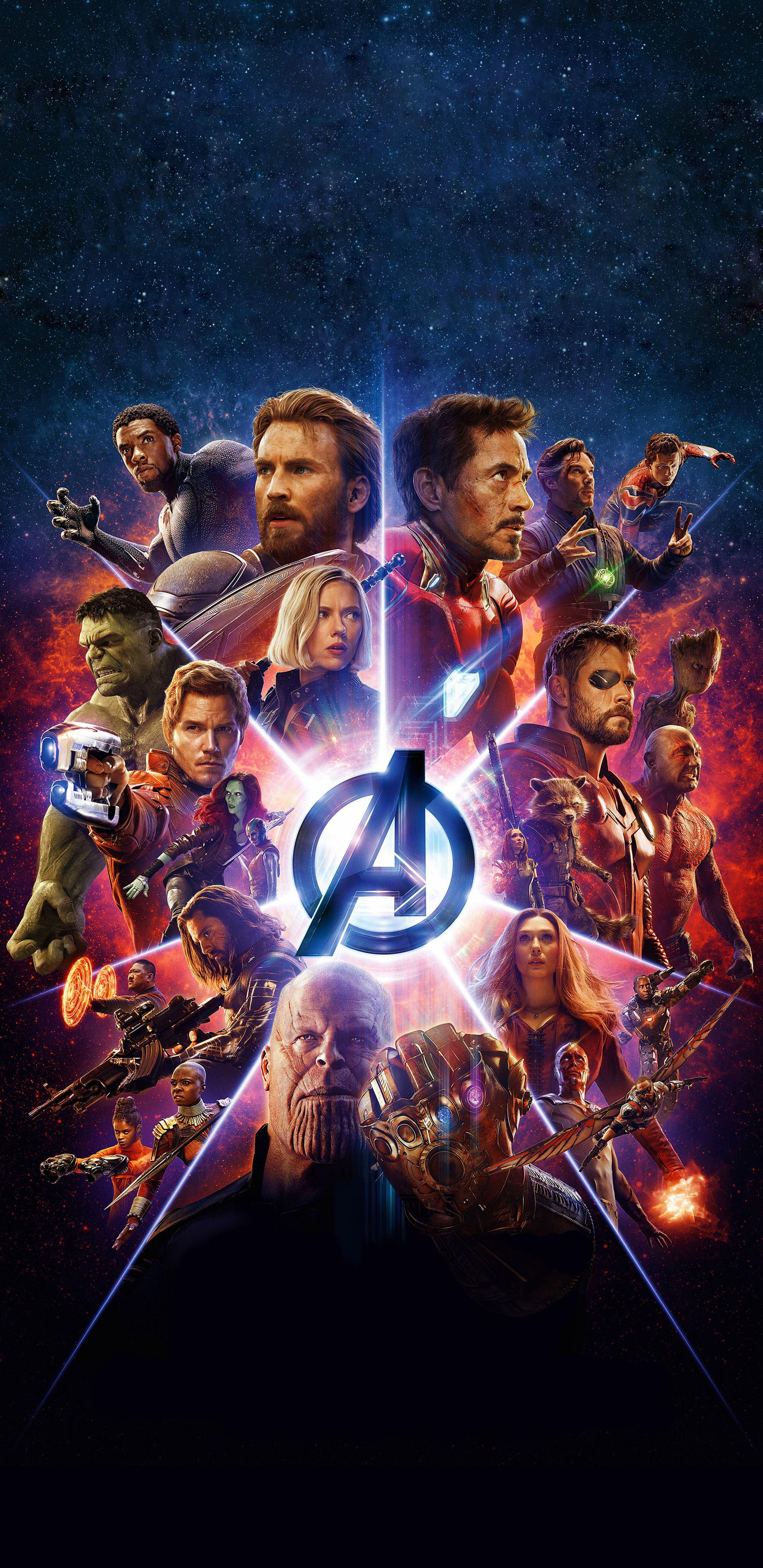 Free Download My Favorite Avengers Infinity War Poster
