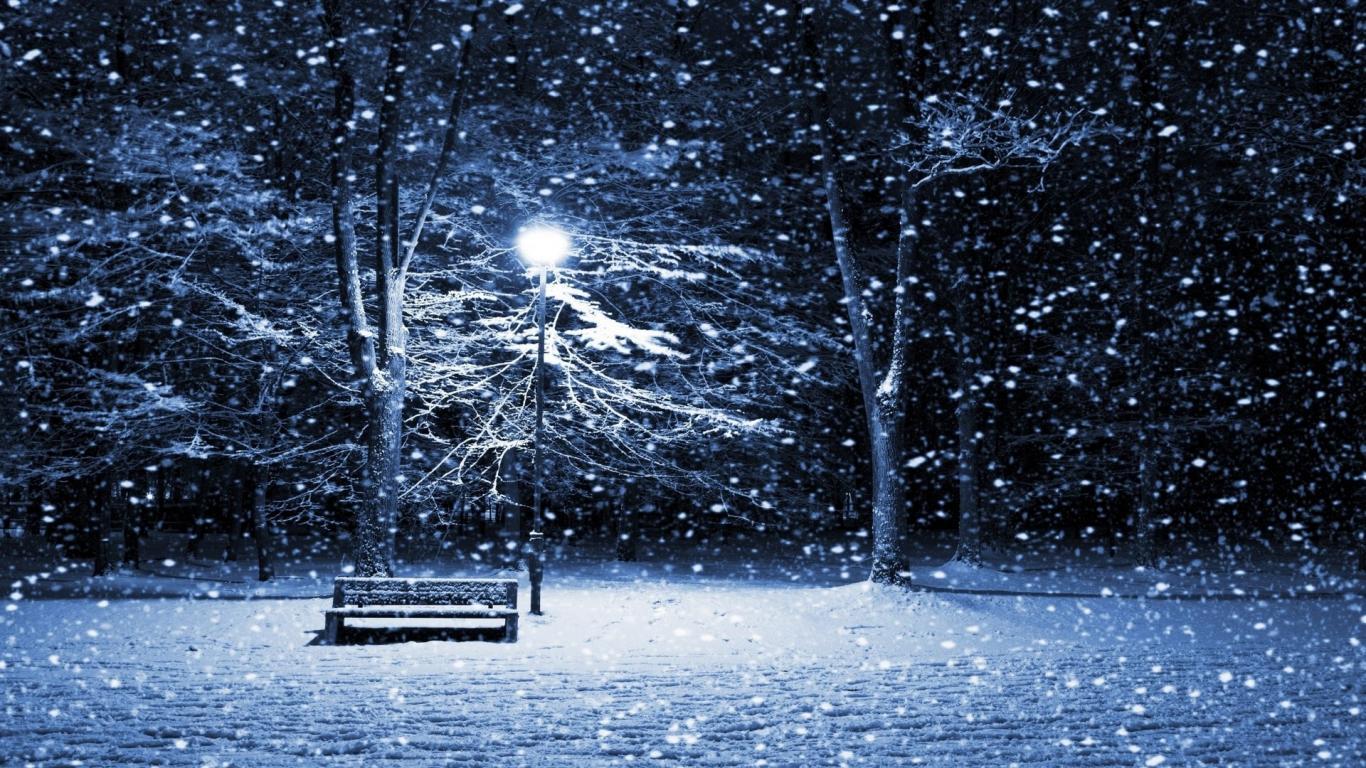 1366x768 Snow Winter Scene Wallpaper 1920x1080 47980jpg 1366x768