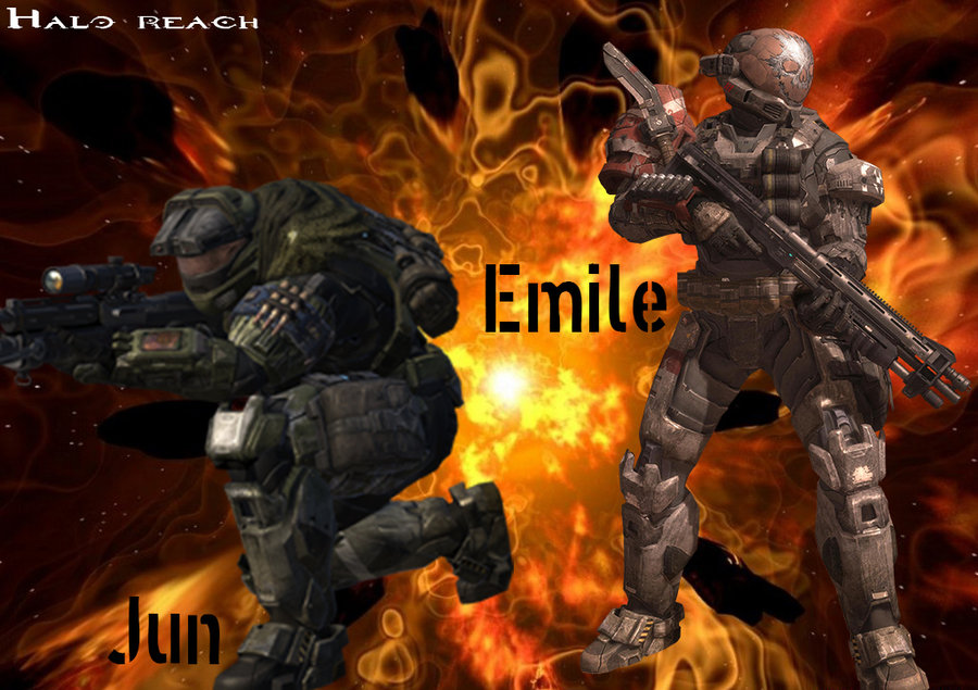 Free Download Halo Reach Jun And Emile By Mr123spiky