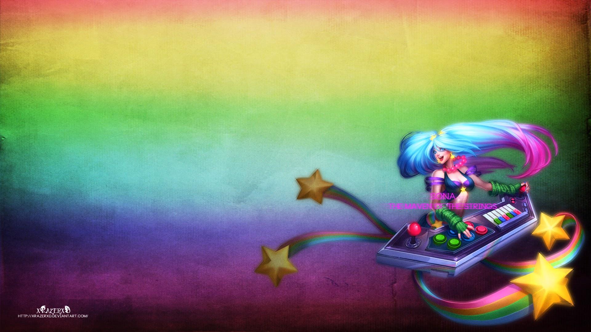 Free Download Arcade Sona League Of Legends Hd Wallpaper Lol Girl