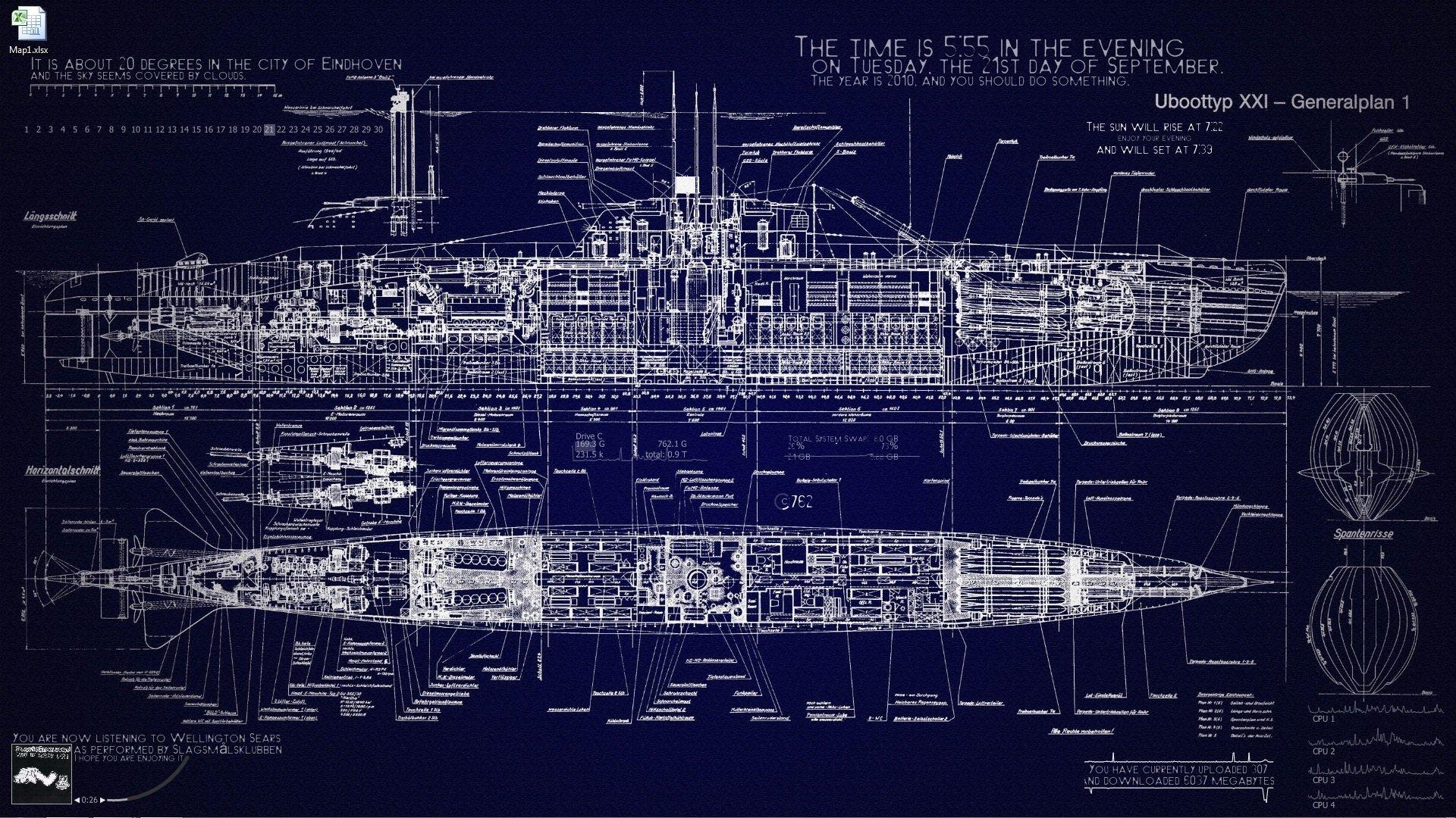 SUBMARINE ship boat military navy wallpaper 1920x1080 410478 1920x1080