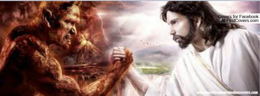 devil vs god Facebook Profile Cover #129039
