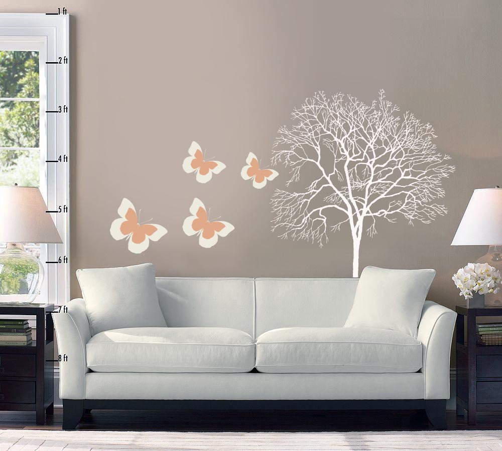 living room interior design with wallpaper and change decoration of 1000x900