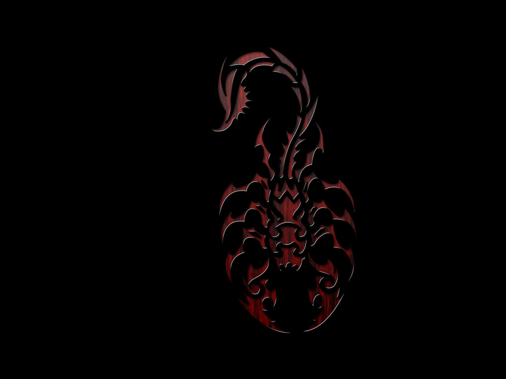 Scorpion Abstract Wallpaper Tribal scorpion by robdude91 1032x774