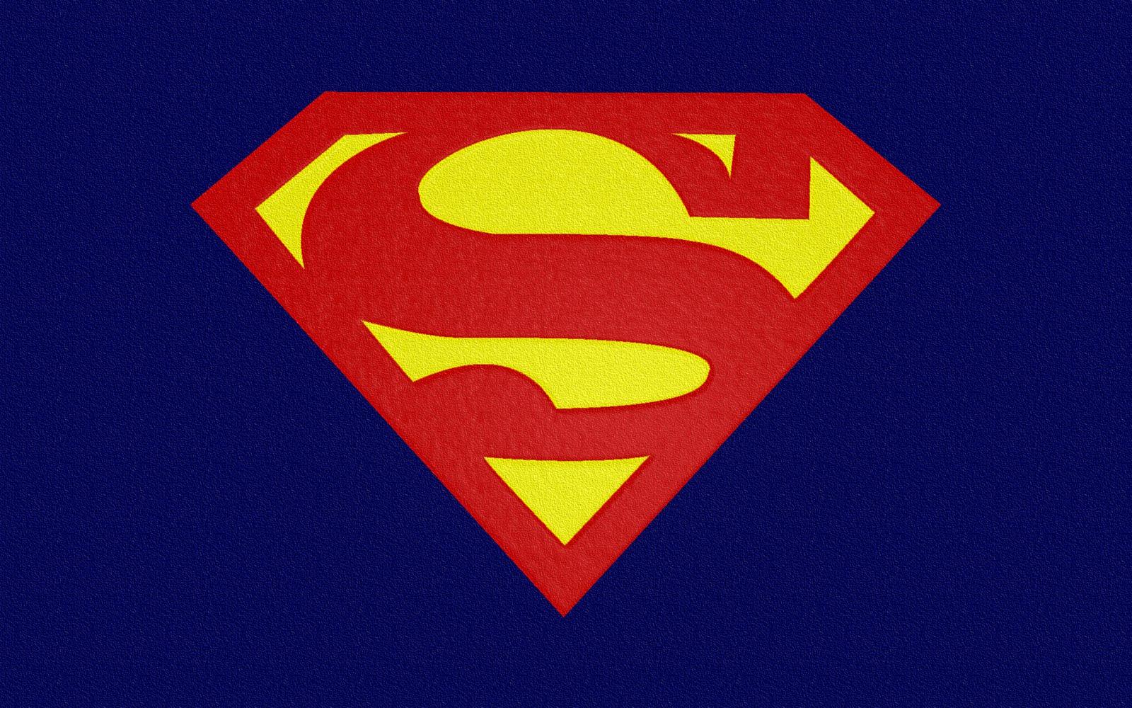 Superman Logo Hd Widescreen Sky Hd 1600x1000 pixel Popular HD 1600x1000