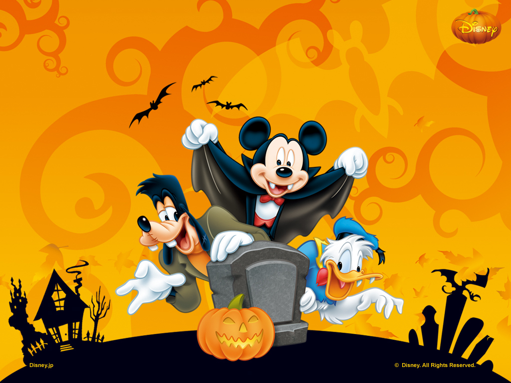 Halloween 2012 wallpaper for Disneys fan Wallpaper for holiday 1024x768