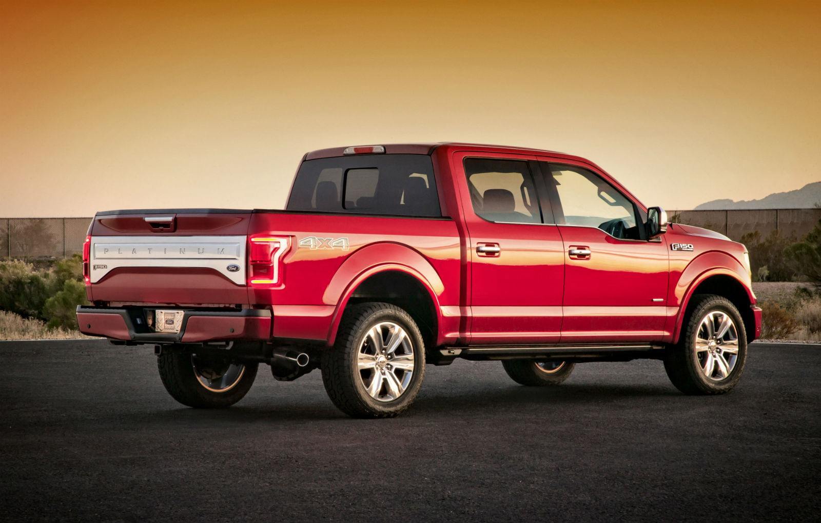 2015 Red Ford F 150 Wallpaper Pictures 1600x1020