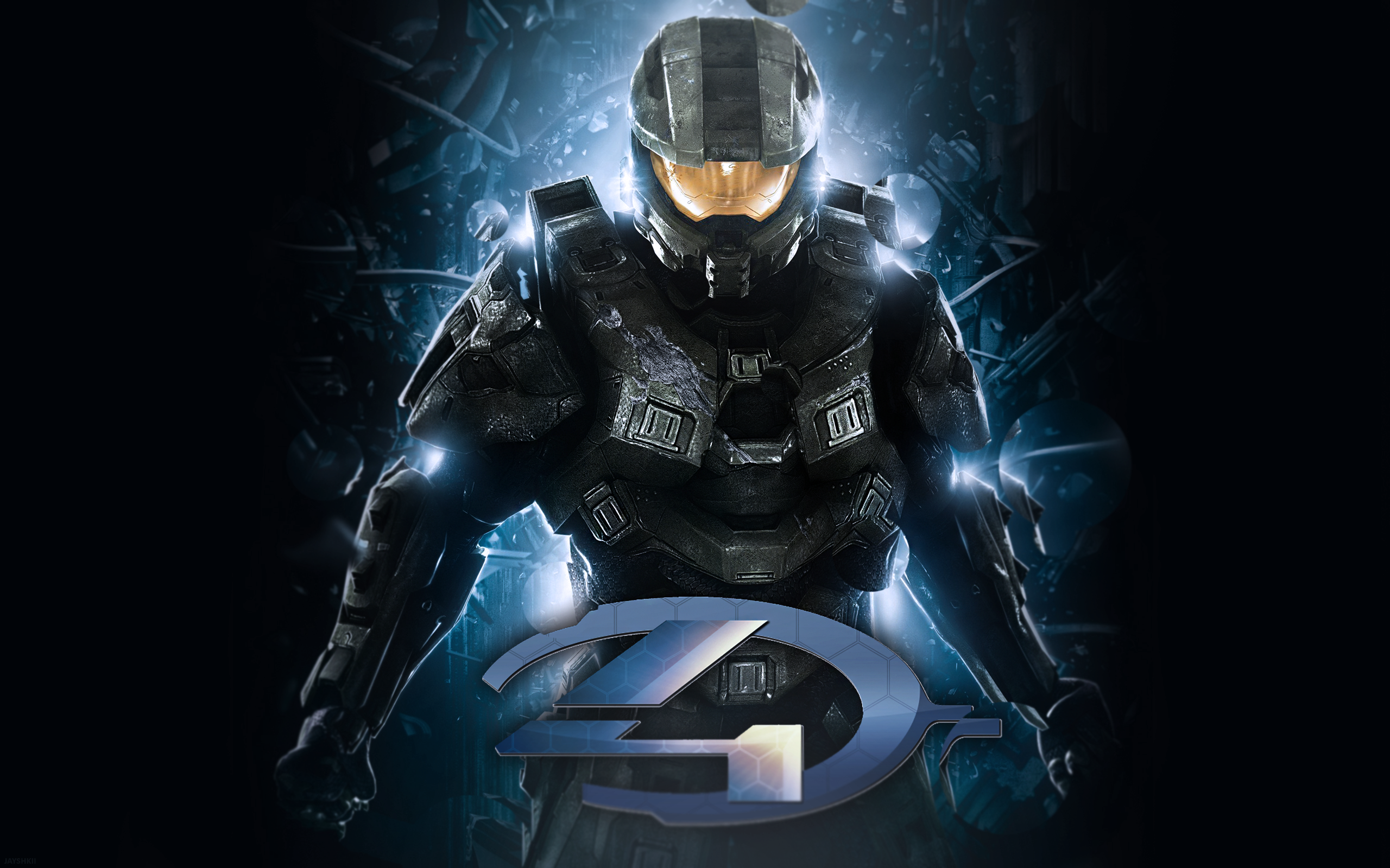 Halo 4 Wallpaper by Cloud 9 Design 2560x1600