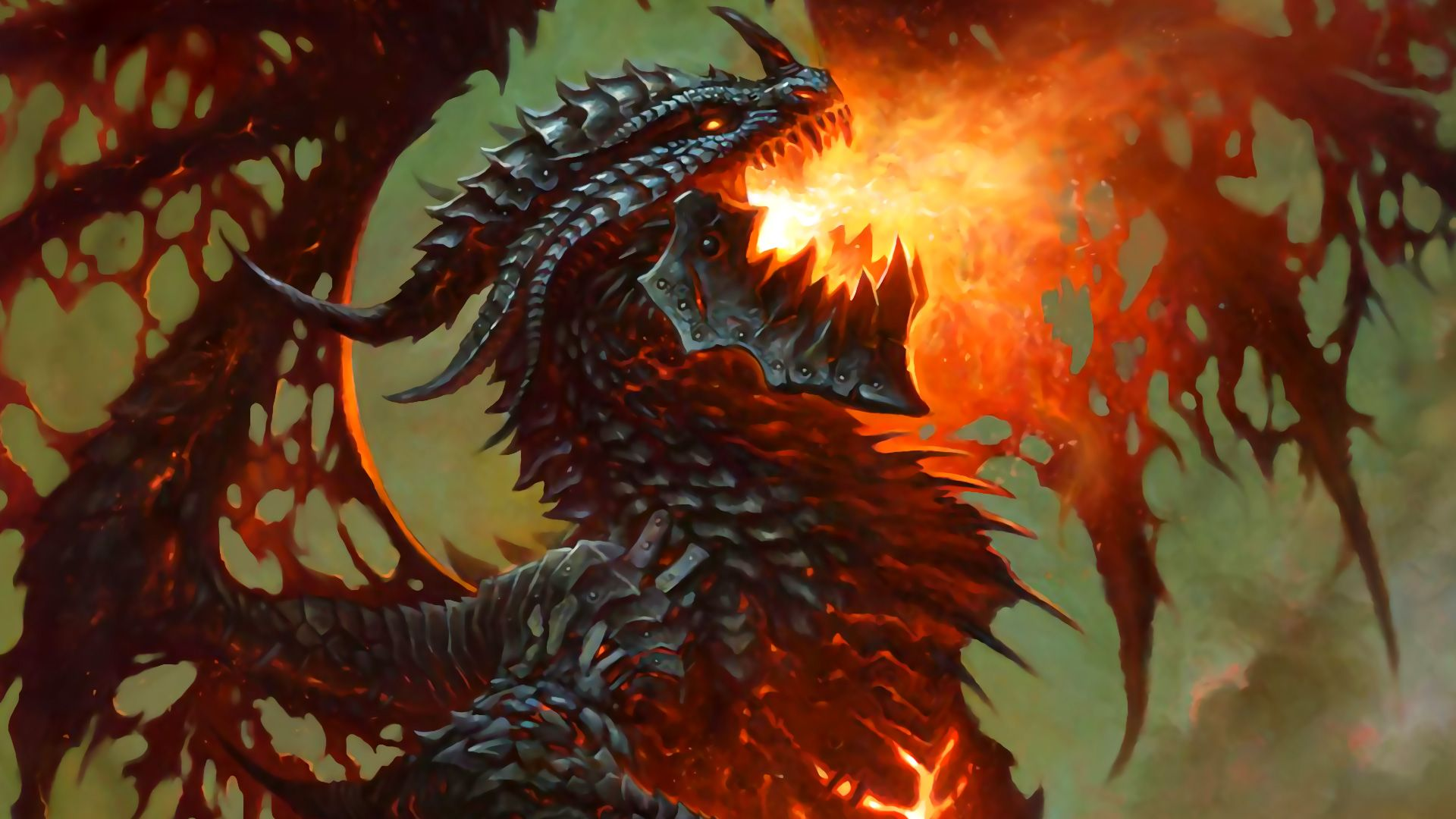 Deathwing Dragonlord Wallpaper Hearthstone Wallpapers in 2019 1920x1080