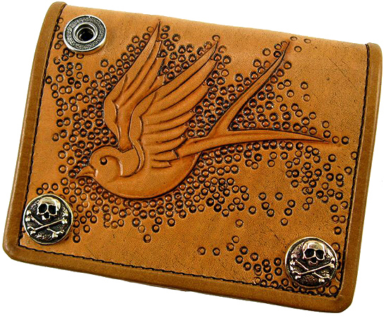 Tooled Leather Wallets 547x450
