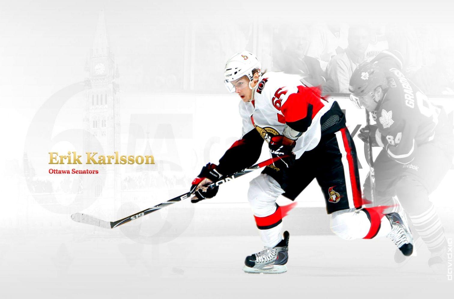 Erik Karlsson Ottawa Senators Hd Desktop Joss Wallpapers 1512x997