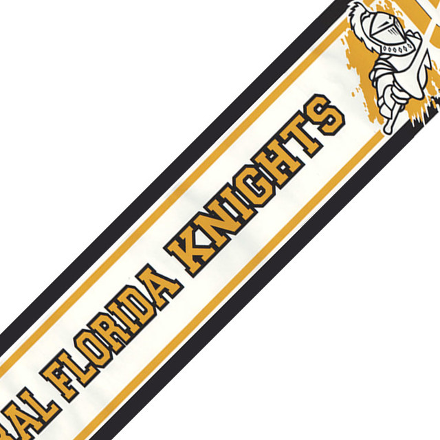 NCAA Central Florida Knights Prepasted Wallpaper Border   Contemporary 640x640