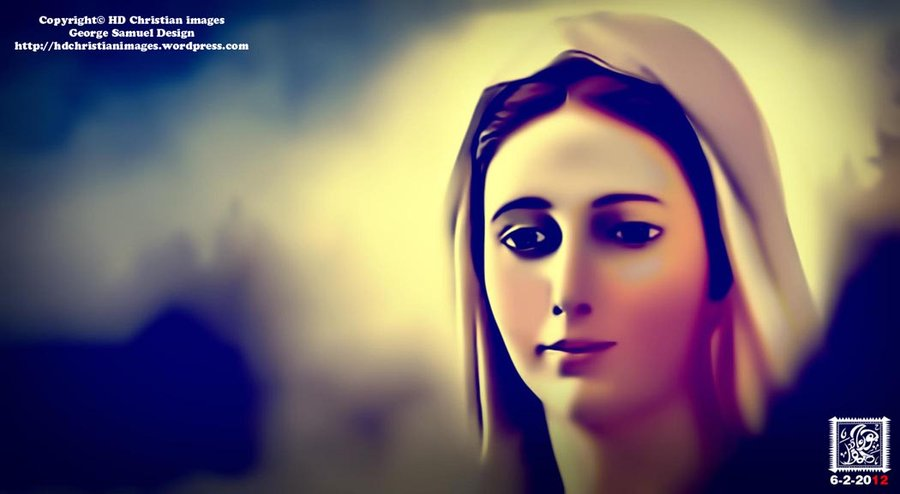 Virgin Mary HD by HDChristianimages 900x494