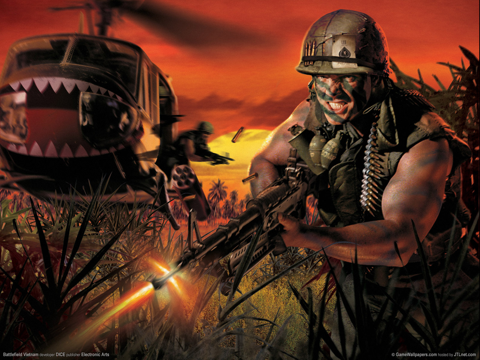 In The Vietnam War Wallpaper PicsWallpapercom 1600x1200