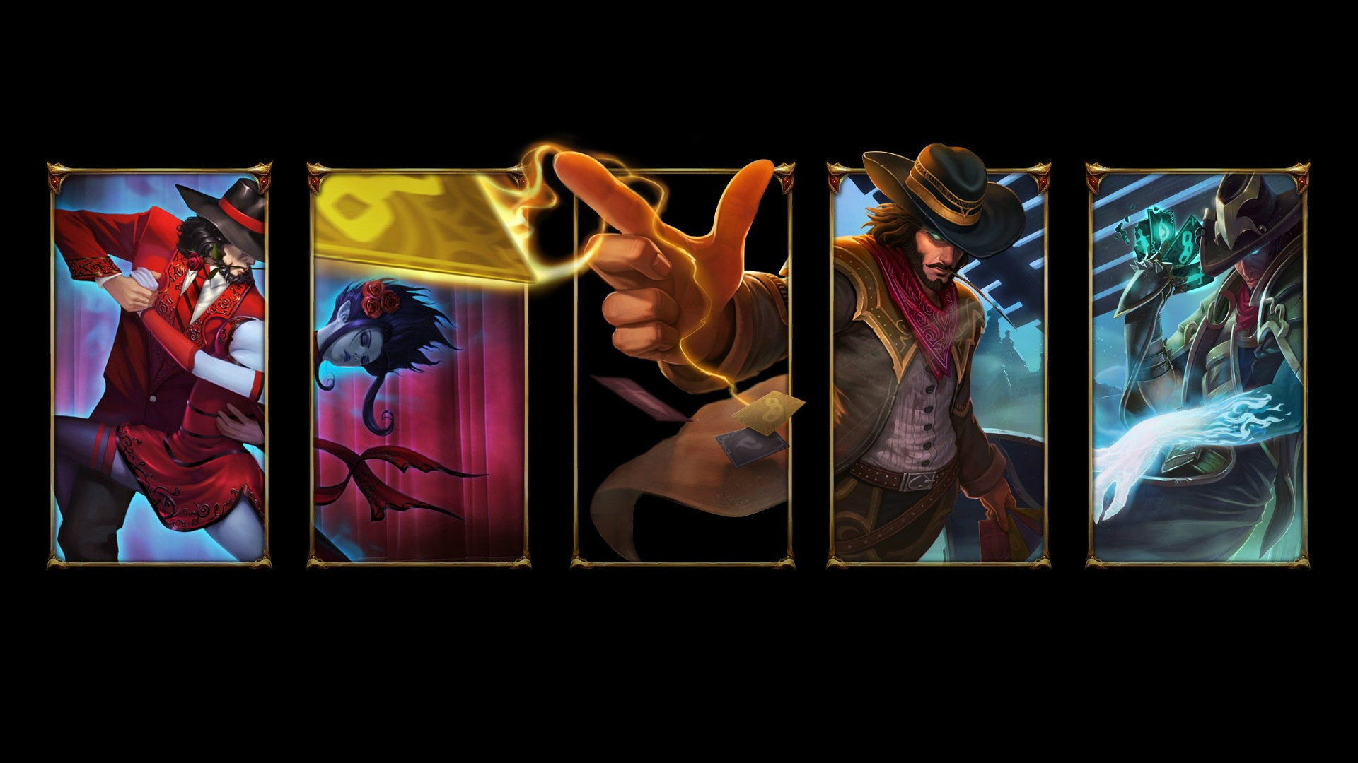 Tag Twisted Fate wallpaper LOL Related 1920x1080