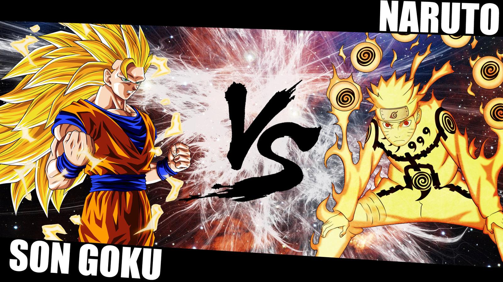 GOKU VS NARUTO Wallpaper by OxeloN 1600x900