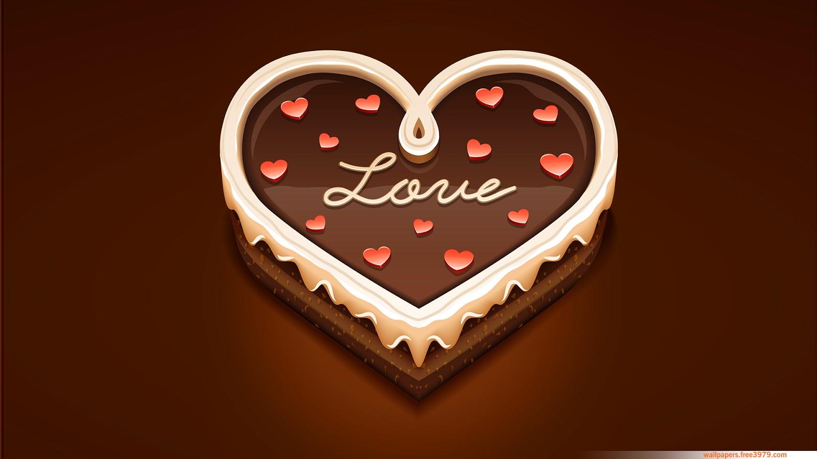I Love Chocolate Wallpaper