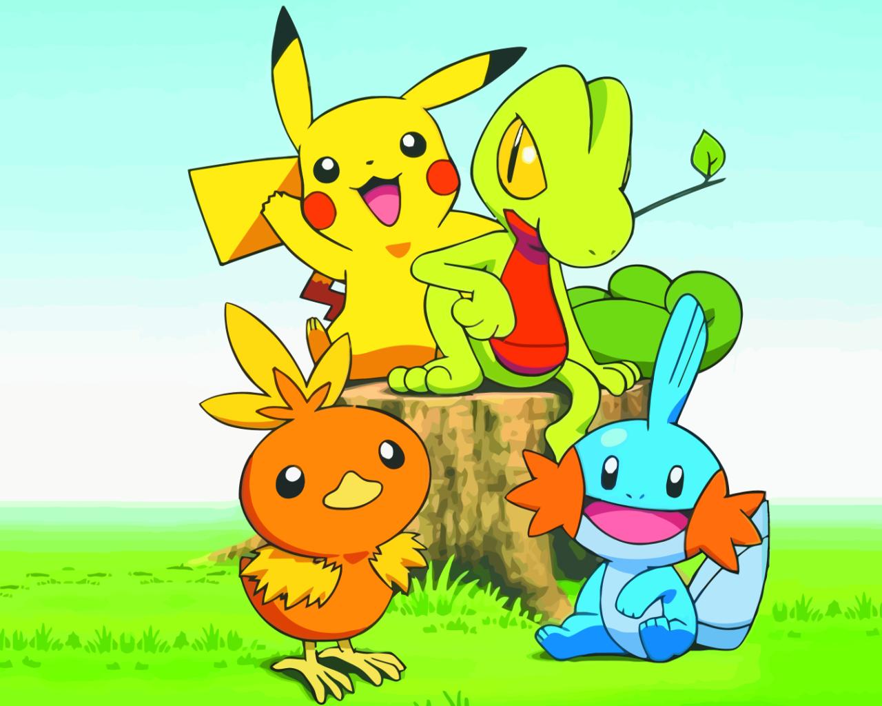 Download Pokemon Pikachu Wallpaper 1280x1024 Wallpoper 407819 1280x1024