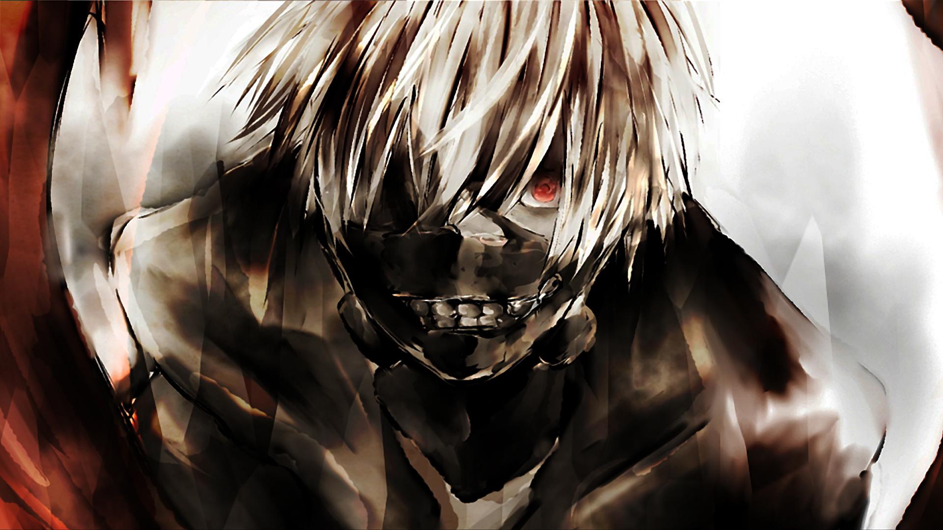 ken kaneki tokyo ghoul characters anime art mask hd 1920x1080 1080p 1920x1080