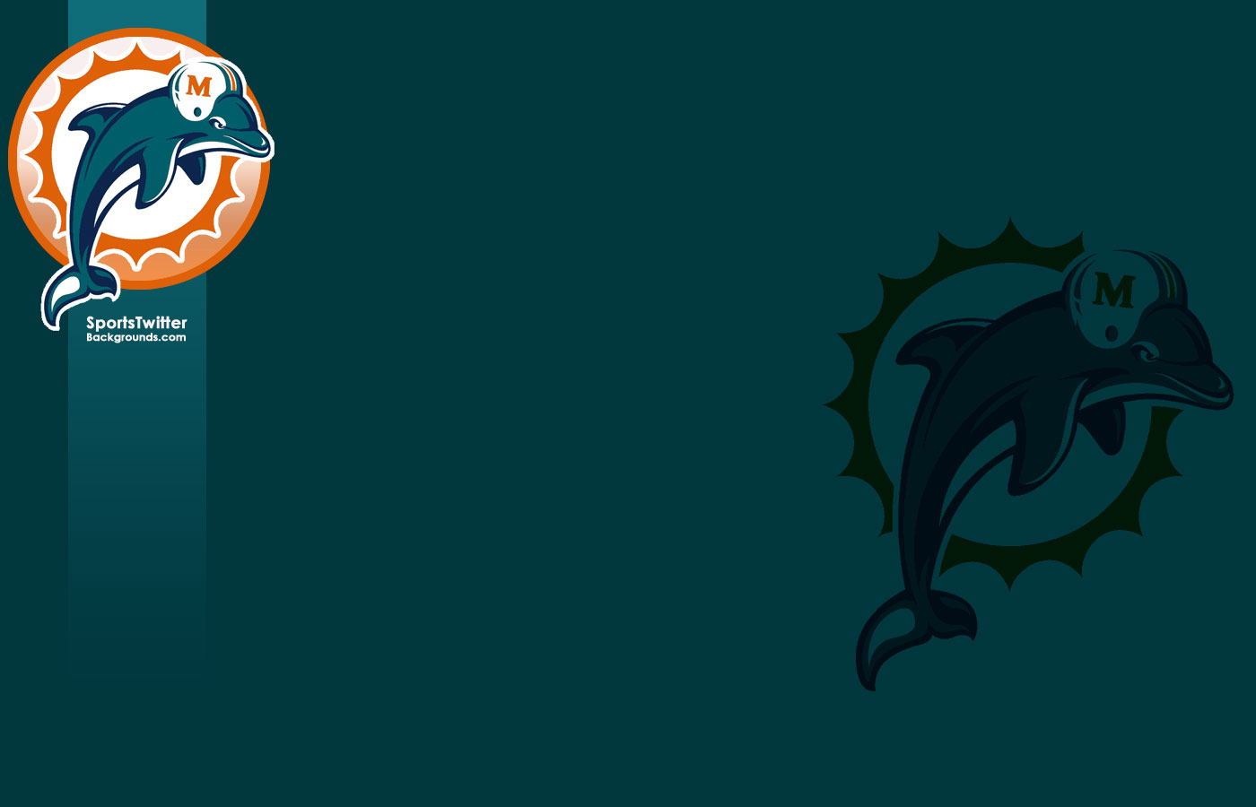 Miami Dolphins wallpaper Miami Dolphins wallpapers 1400x900