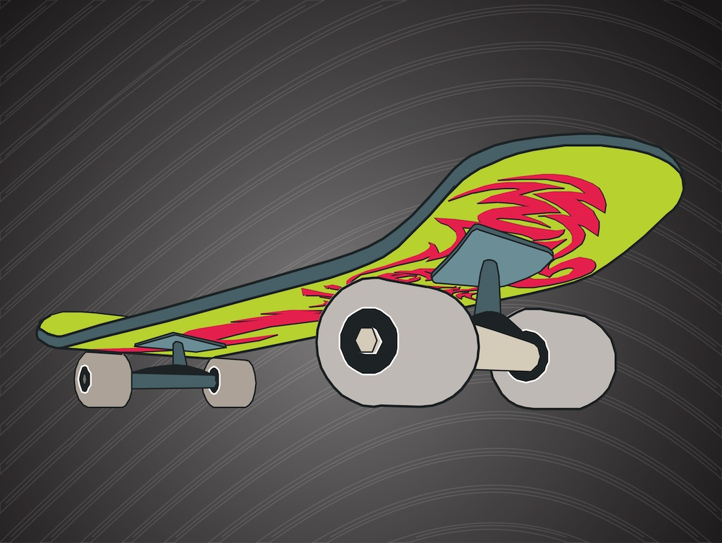 Cool Skateboard 1024x770