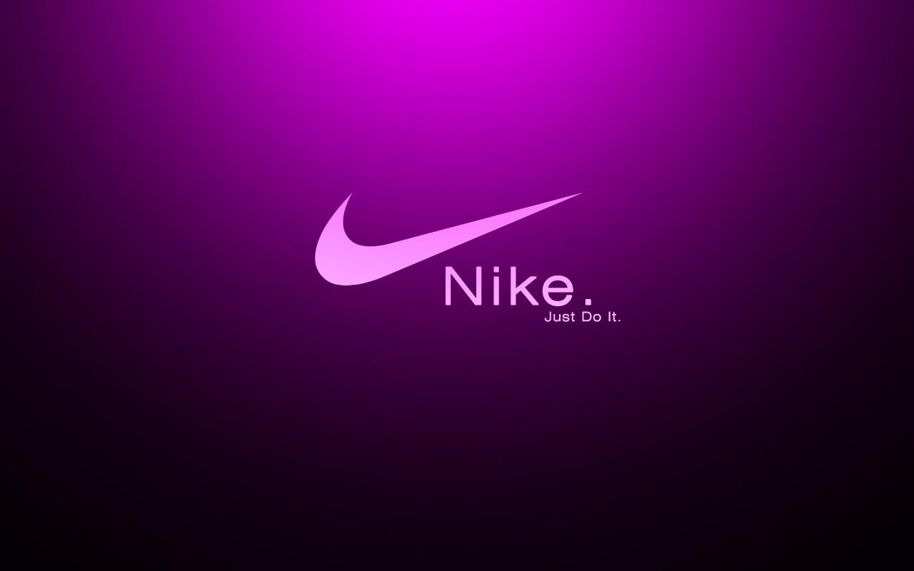 Nike Logo Purple Background   1280x800 iWallHD   Wallpaper HD 1280x800
