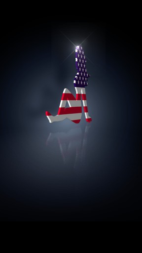 Sexy Flag Girl Live Wallpaper for Android Adult AppsBang 288x512