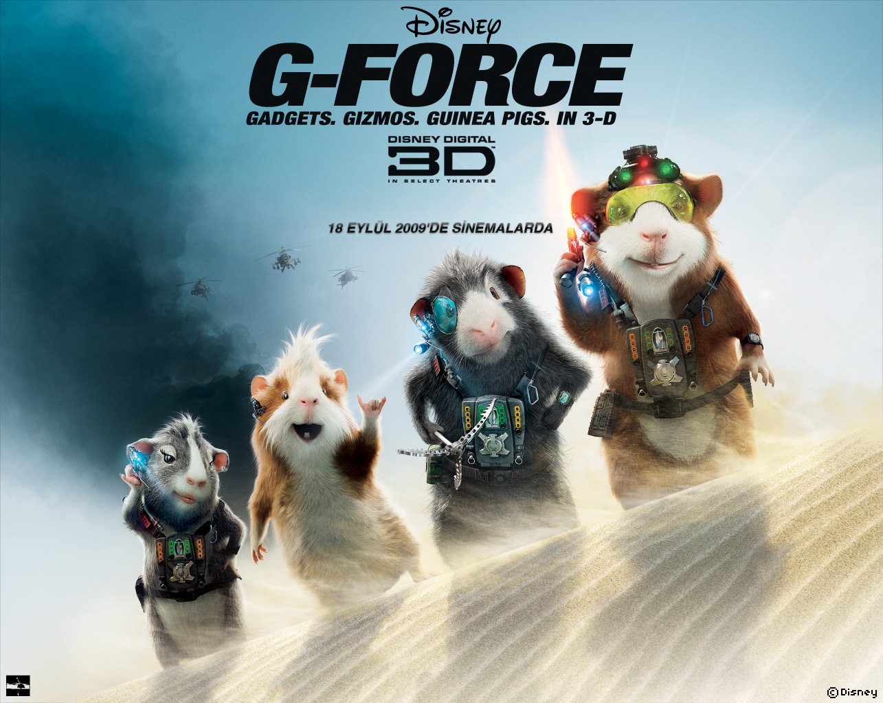 HD Desktop Wallpaper g force hd 1285x1024