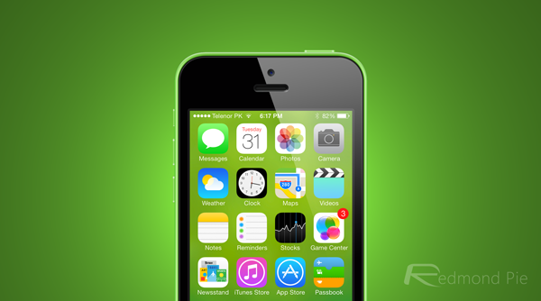 How To Create iOS 7 Inspired Blurred Wallpaper For iPhone Redmond 600x334