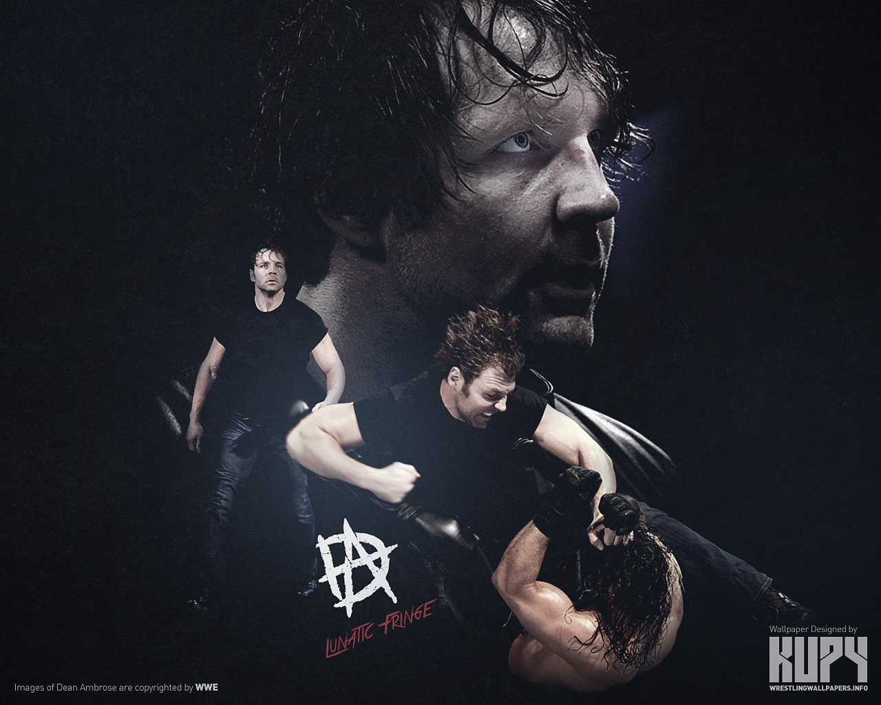 Shield Aftermath Dean Ambrose   The Shield WWE Wallpaper 37595626 1280x1024