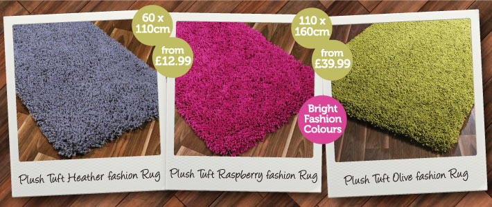 Plush Rug Bargains from BM Stores 710x300