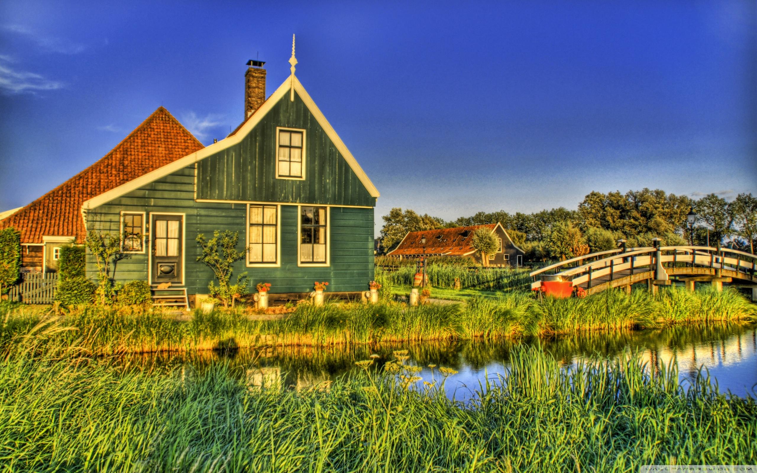 Holland Farmhouse 4K HD Desktop Wallpaper for 4K Ultra HD TV 2560x1600