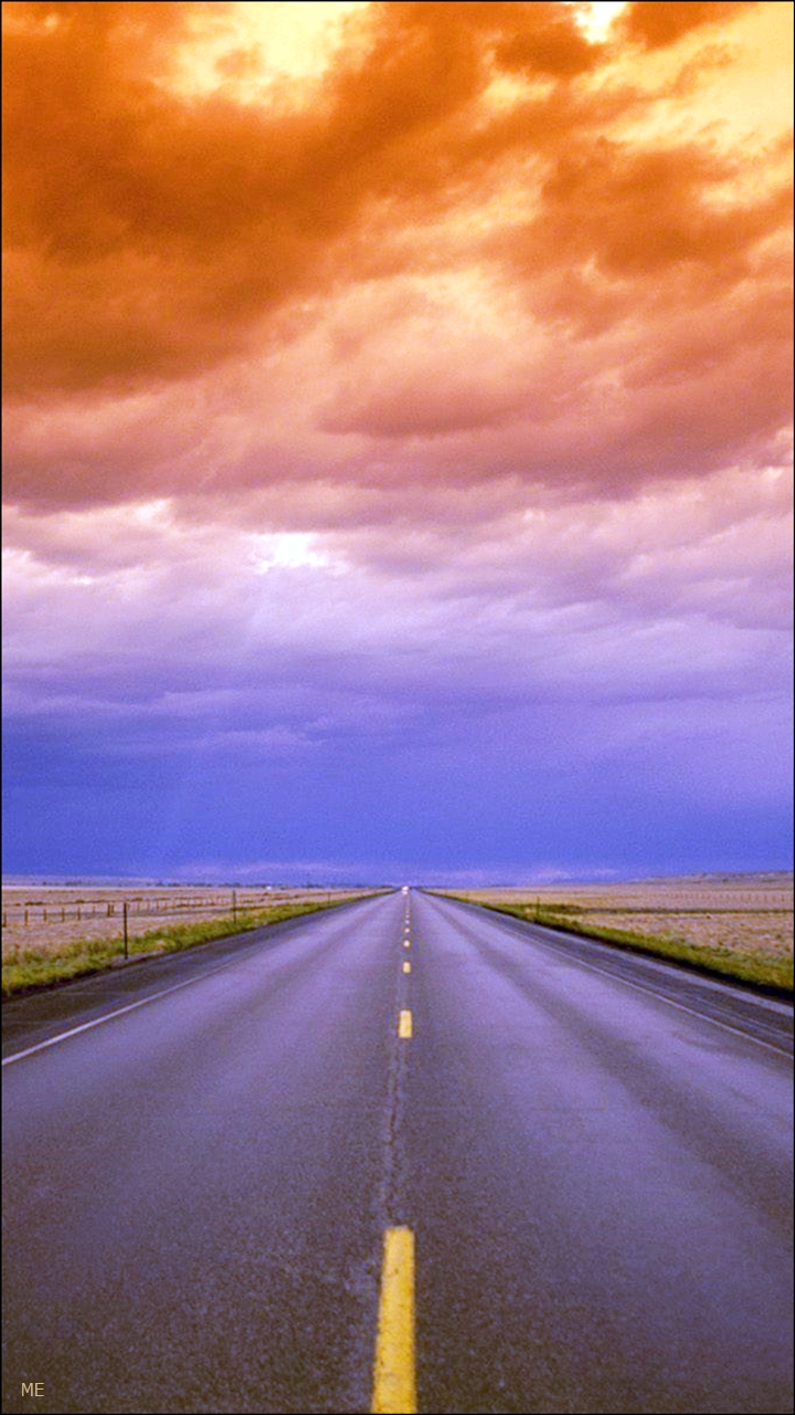 Wide Open Road HD Wallpapers For Mobiles From Masti Entertainment 720x1280