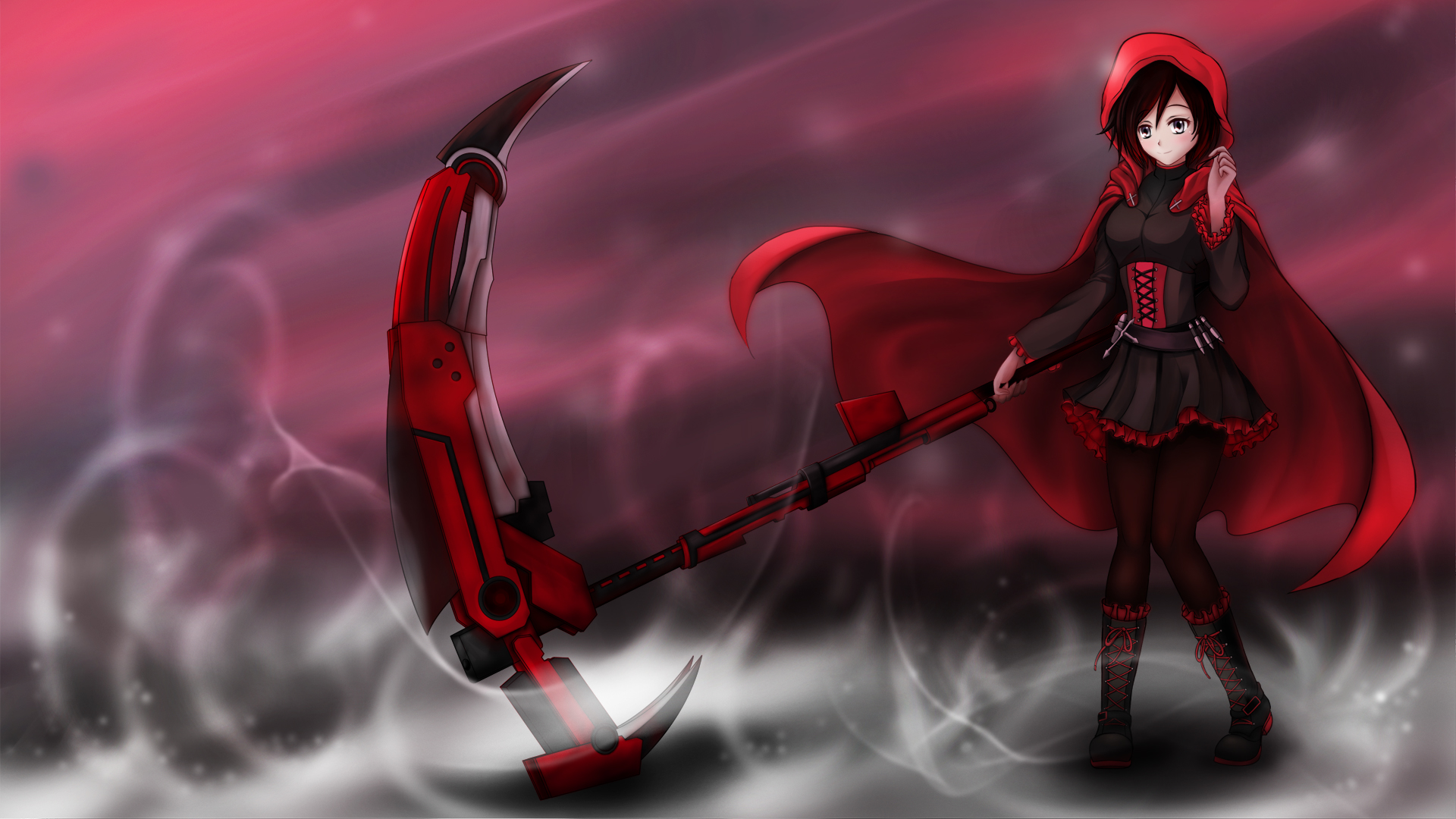 ruby rose rwby wallpaper wallpapersafari