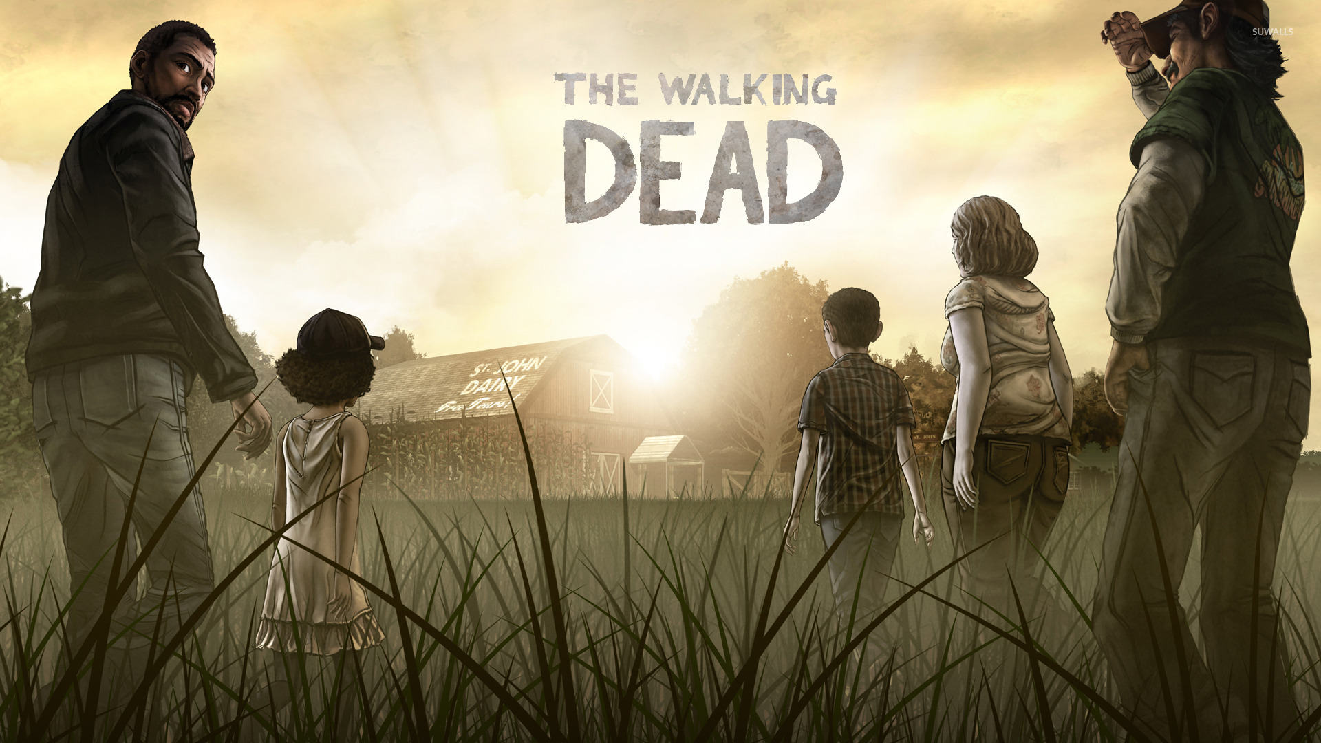 The Walking Dead wallpaper   Game wallpapers   16146 1920x1080