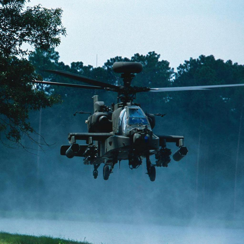 Apache Helicopter Wallpaper Desktop