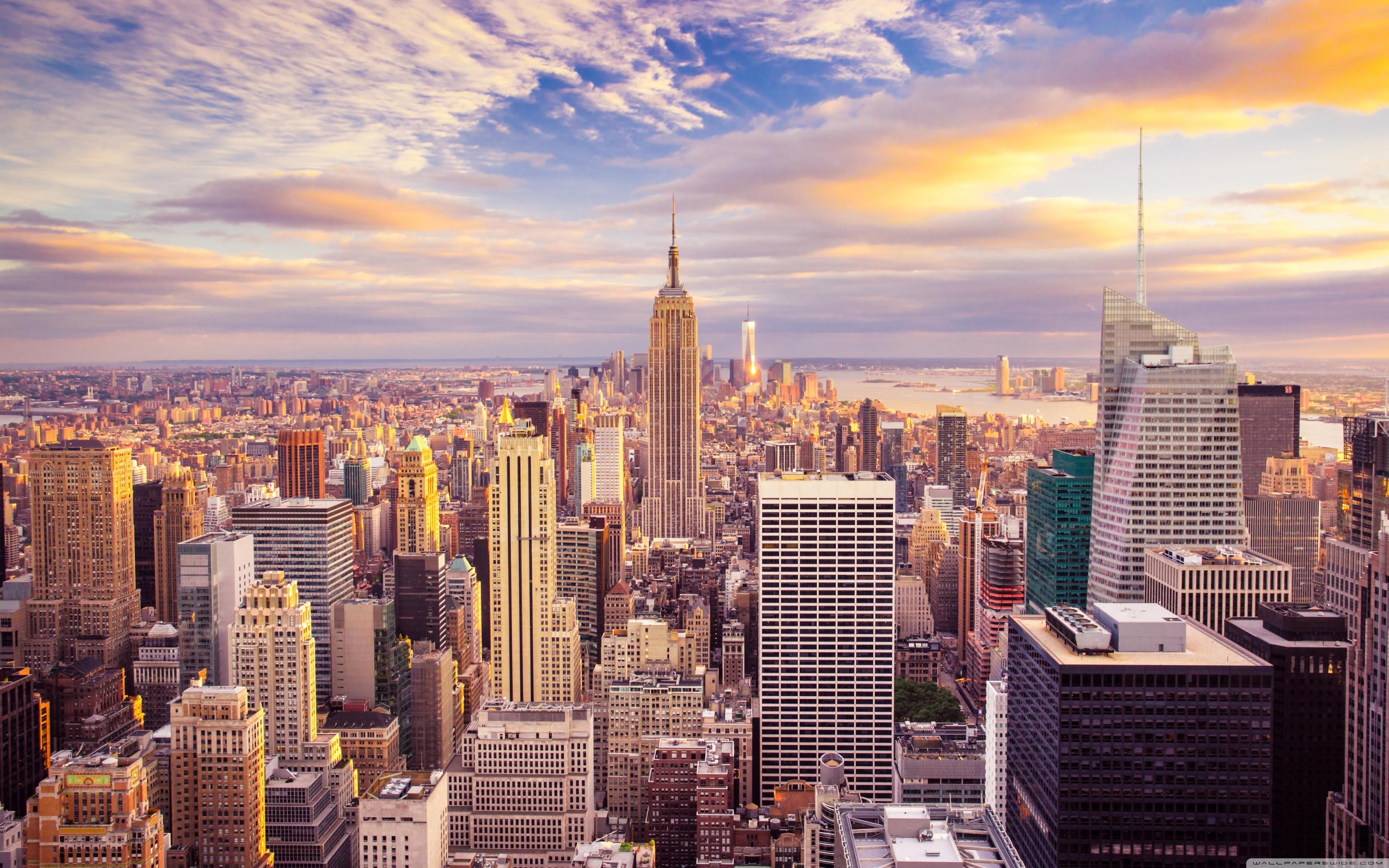 New York City Buildings 4K HD Desktop Wallpaper for 4K Ultra HD 3840x2400