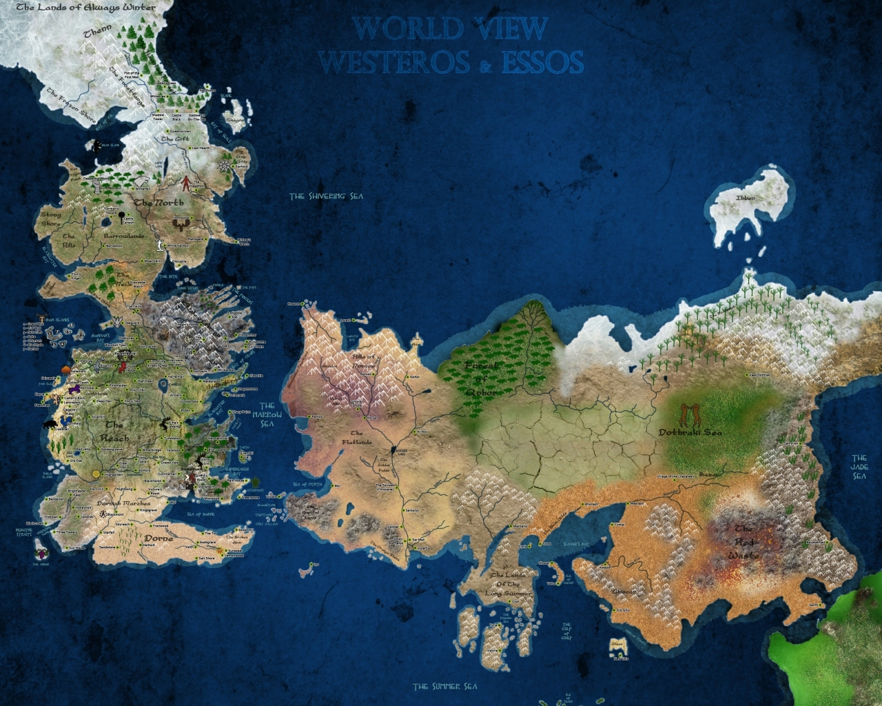 Download Wallpapers Download 1280x1024 maps game of thrones world map 1280x1024
