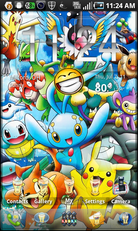 Pokemon Live Wallpaper Wallpapersafari