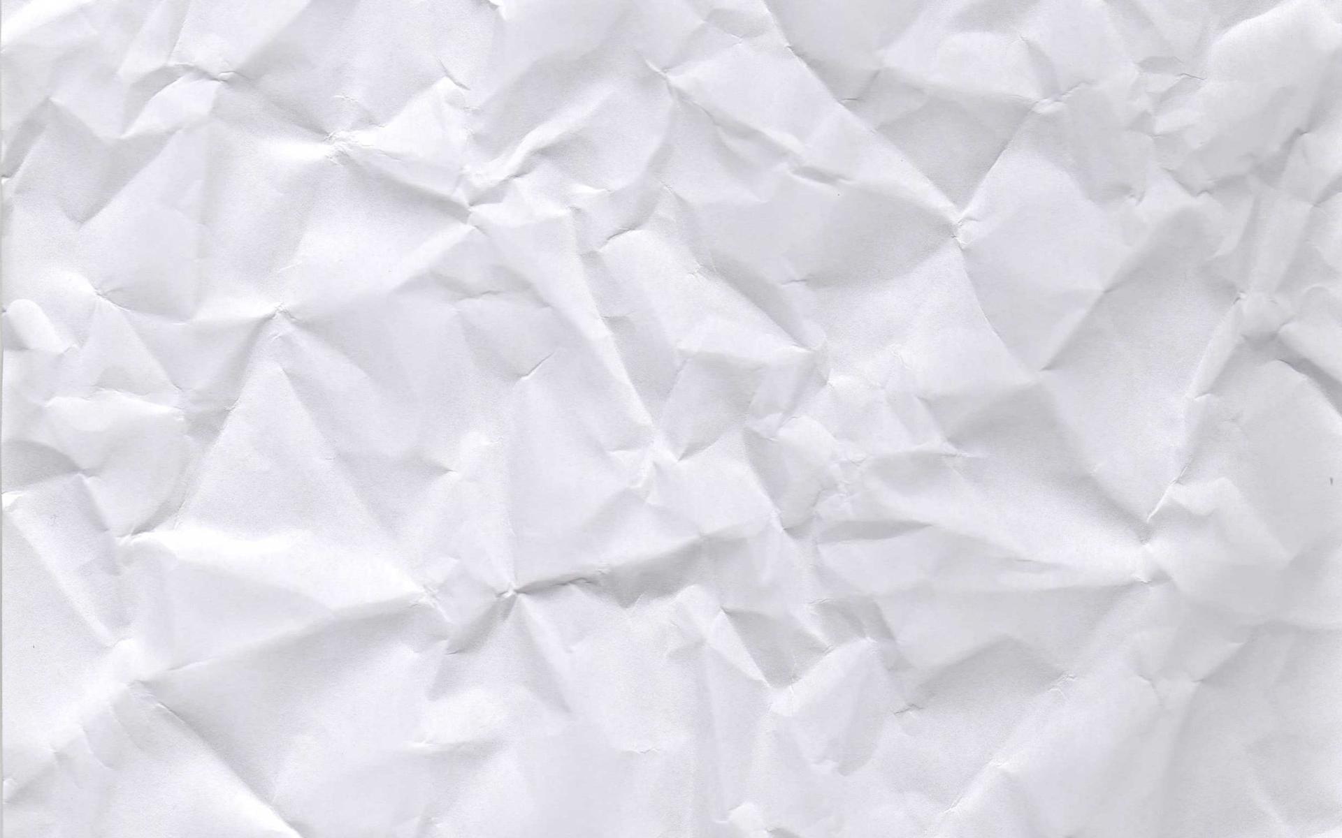 Crumpled White Paper Texture Hd Wallpaper Wallpaper List 1920x1200