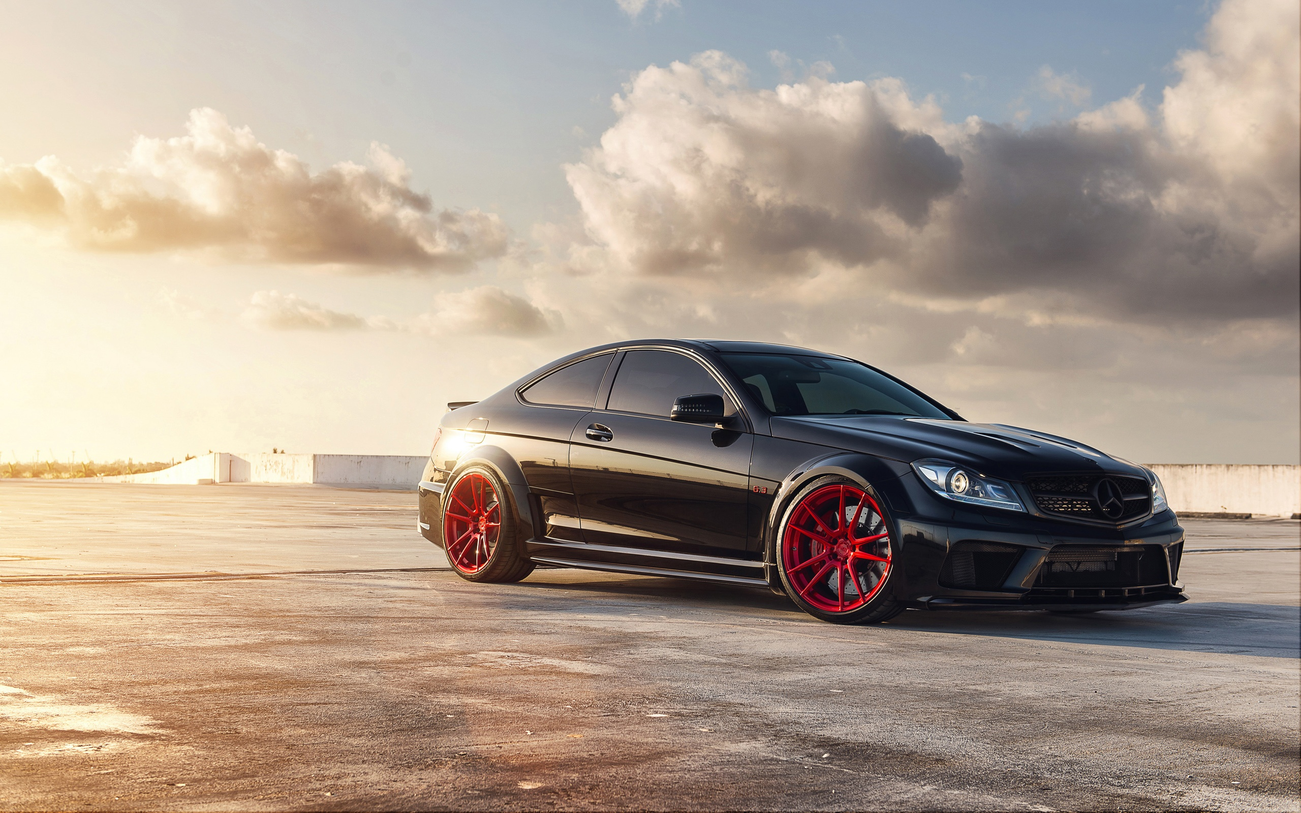 Mercedes Benz C63 AMG Wallpapers HD Wallpapers 2560x1600