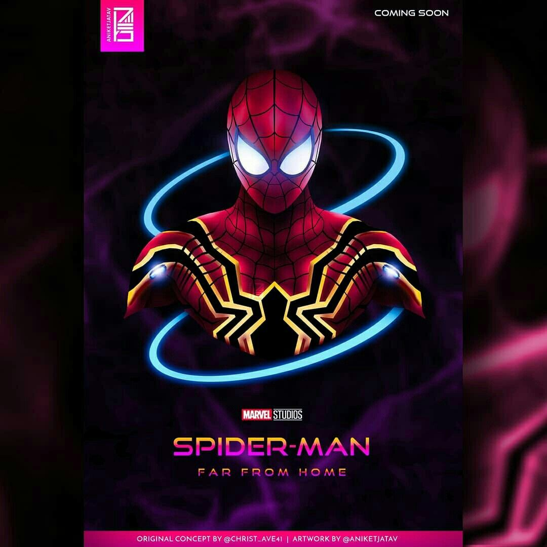23 Spider Man Far From Home Hd Wallpapers On Wallpapersafari