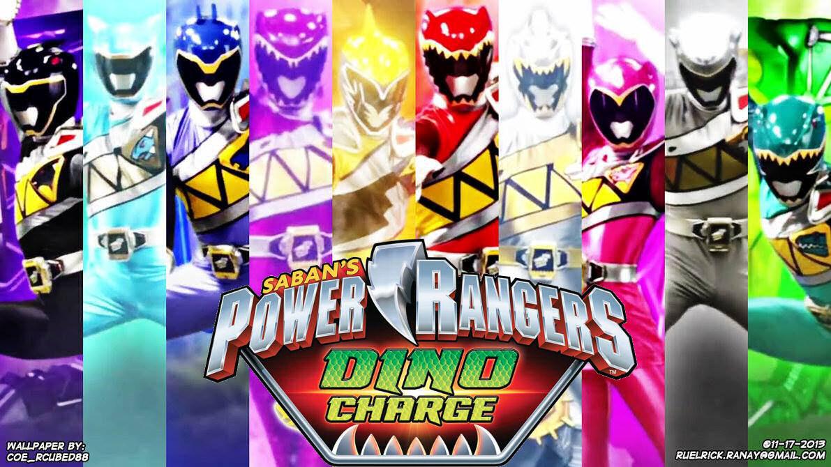 48 Power Rangers Dino Charge