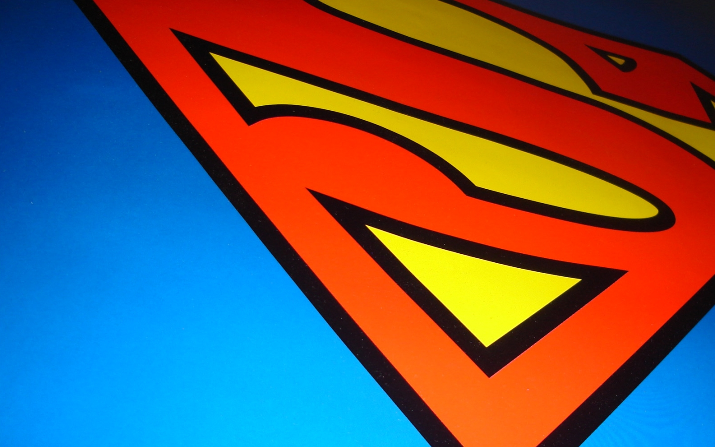 achtergrond superman wallpaper met logo superman wallpaper superman 1440x900