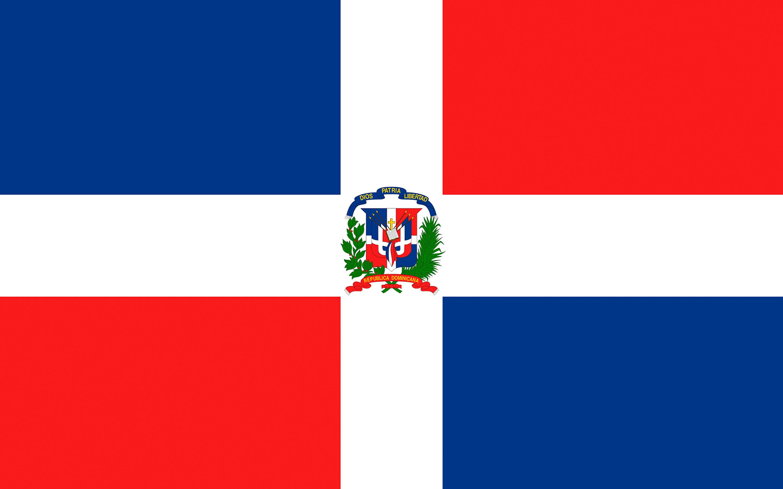 Wallpaper Dominican Republic Flag Cross 2880x1800 2880x1800