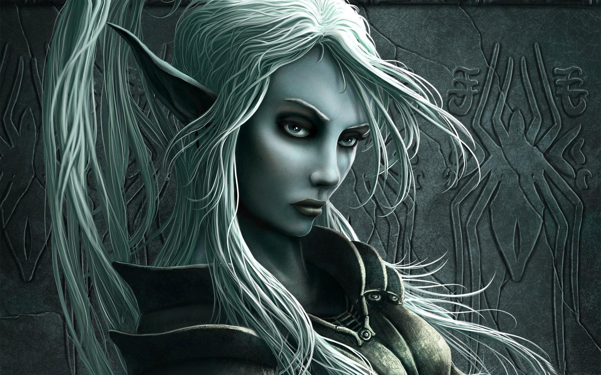 Elf woman wallpapers Elf woman stock photos 1920x1200