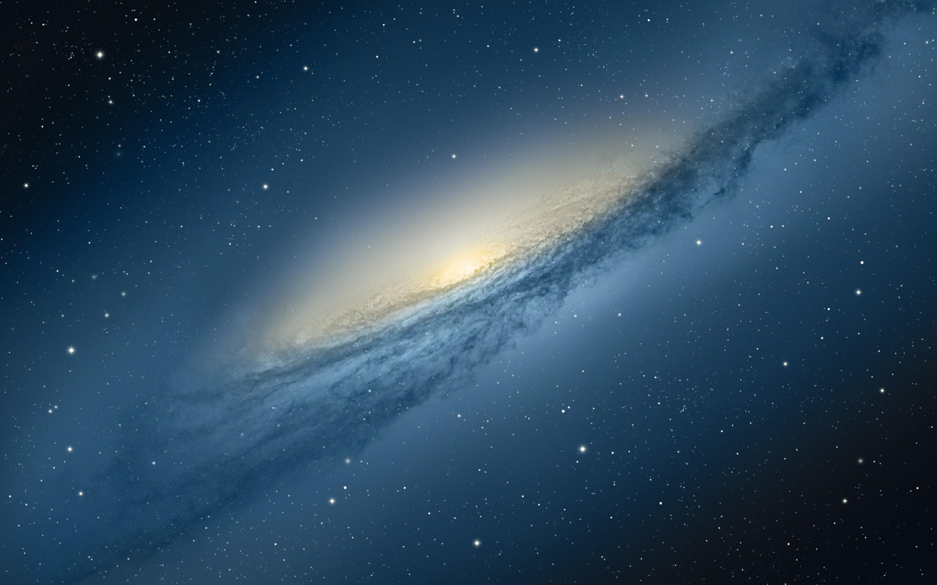 Retina Display Galaxy Wallpaper for Macbook Pro