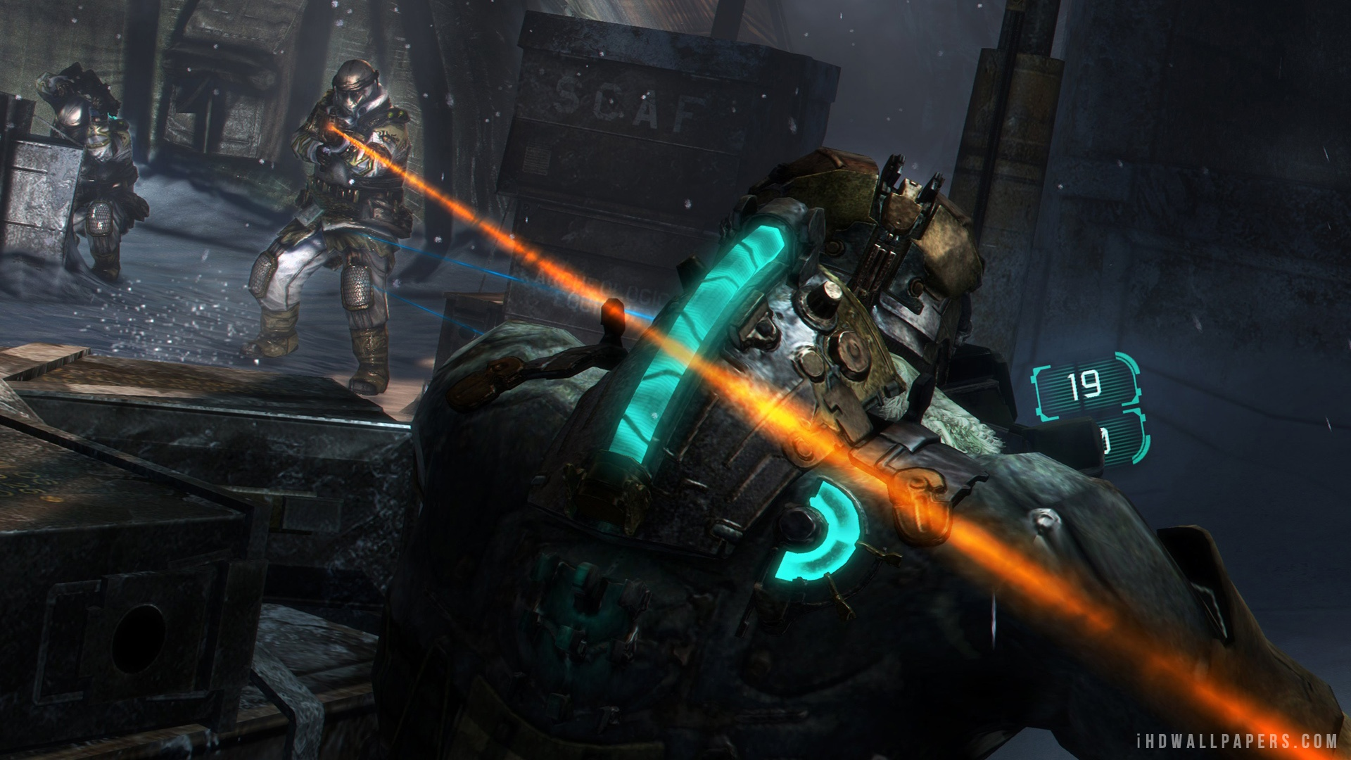 : Download Dead Space 3 Gameplay Wallpaper/Background in 1920x1080 ...