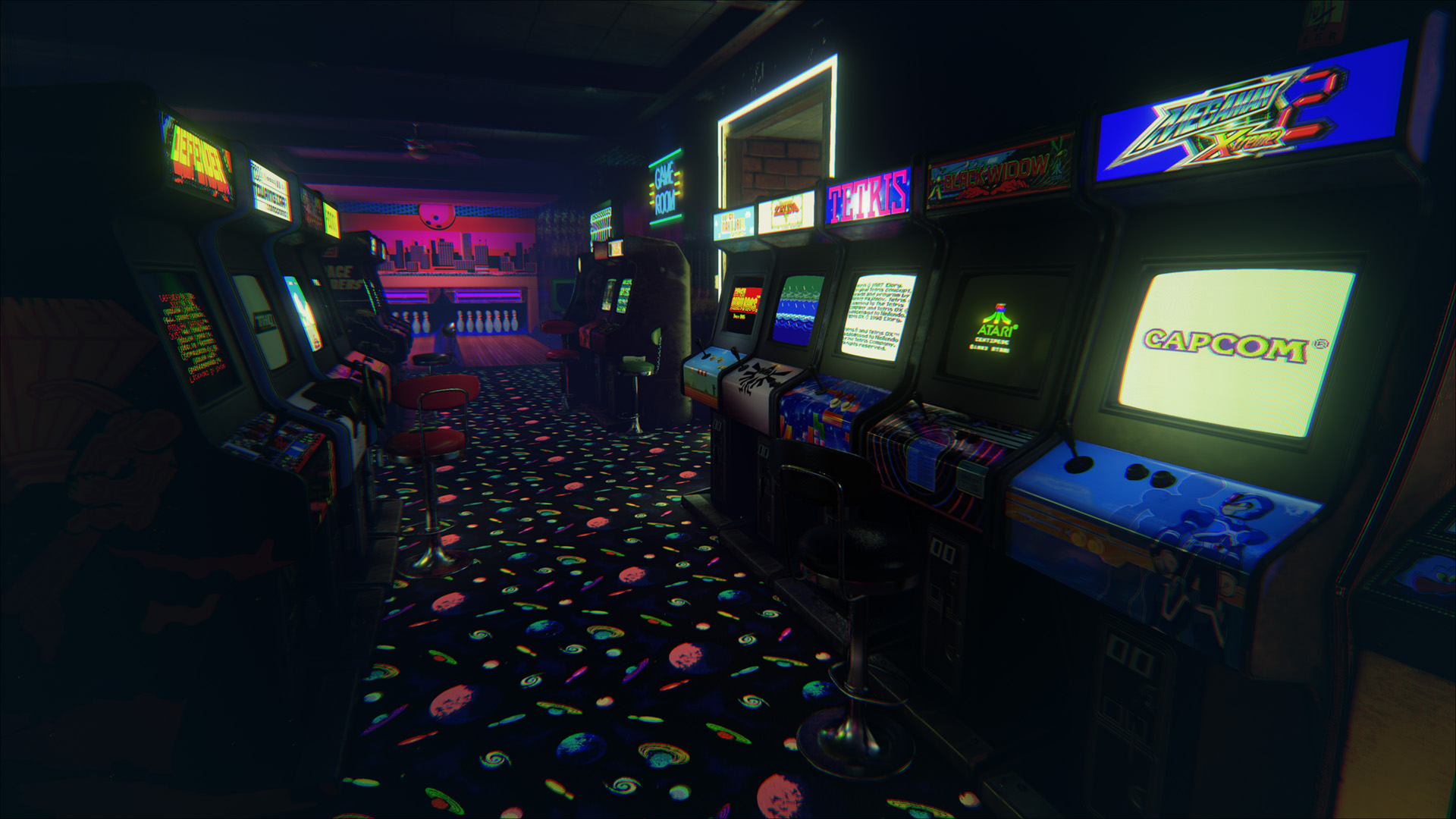 New Retro Arcade offers an entire 80s arcade to play in The Rift 1920x1080