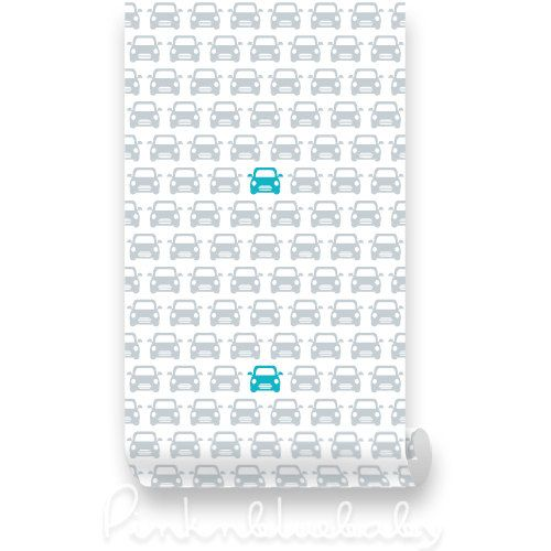 Cars Kids Removable Wallpaper Peel Stick by WallPlays on Etsy 38 500x500